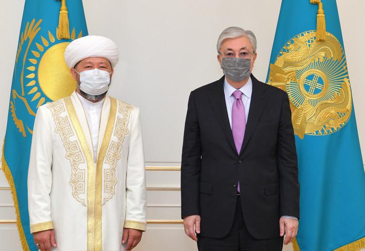 Мемлекет басшысы Бас мүфти Наурызбай қажы Тағанұлын қабылдады